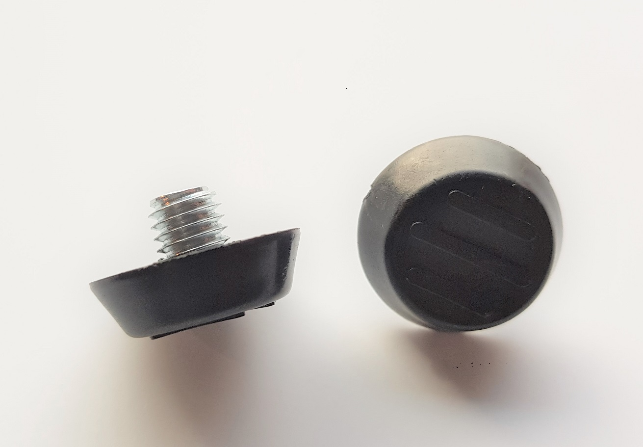 M8 fixed thread table foot for disc base tables